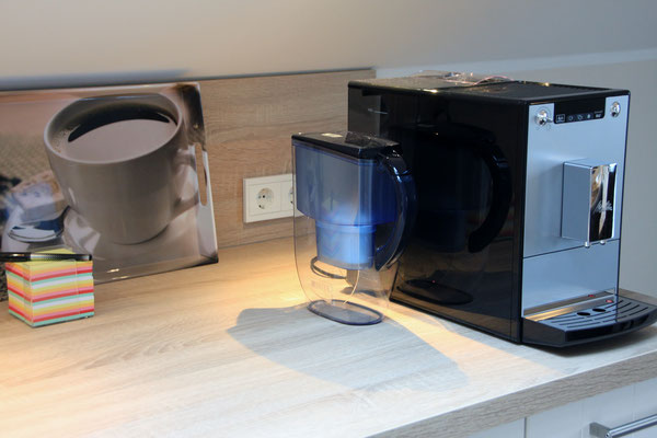Kaffevollautomat, Waffeleisen, Brita-Wasserfilter, Toaster, Wasserkocher,....
