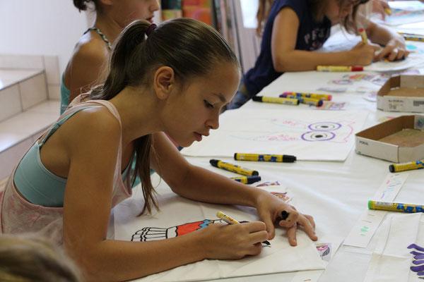 Kindergeburtstag in der Malschule Flitzepinsel in Viersen