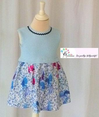 Kinderkleid  Bio Baumwolle/Stoff Baumwolle Design by SuZi's Wollwerkstatt
