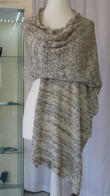 Stola mit Perlen Design by SuZi's Wollwerkstatt