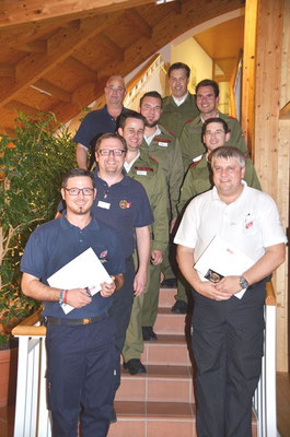 Gruppenbild der Teilnehmer aus Vorarlberg und Tirol