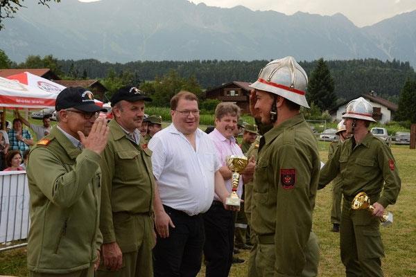 LM Stefan Braunegger erhielt den Pokal