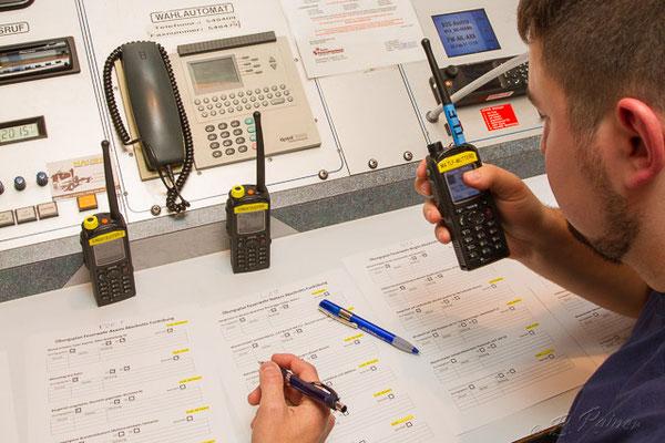 Funken auf drei Funkgruppen erfordert gute Vorbereitung