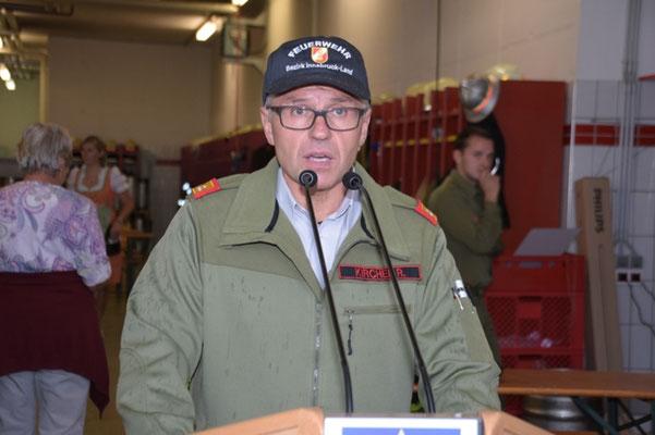 Bezirkskommandant OBR Reinhard Kircher