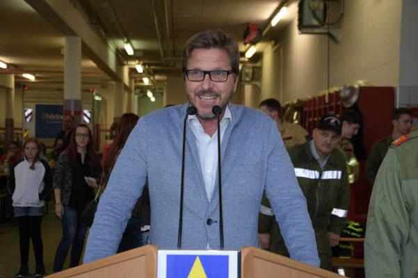 Bürgermeister von Axams Christian Abenthung