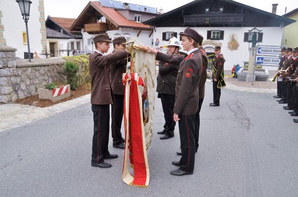 Angelobung der 4 neuen Feuerwehrkameraden