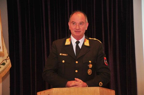 Landesfeuerwehrkommandant LBD Ing. Peter Hölzl