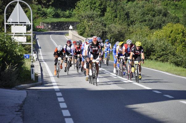 Absperrtätigkeiten wie zum Beispiel beim Ötztaler Radmarathon