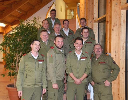 Teilnehmer aus Tirol mit mitgereisten Kameraden des Bezirksverbandes Imst