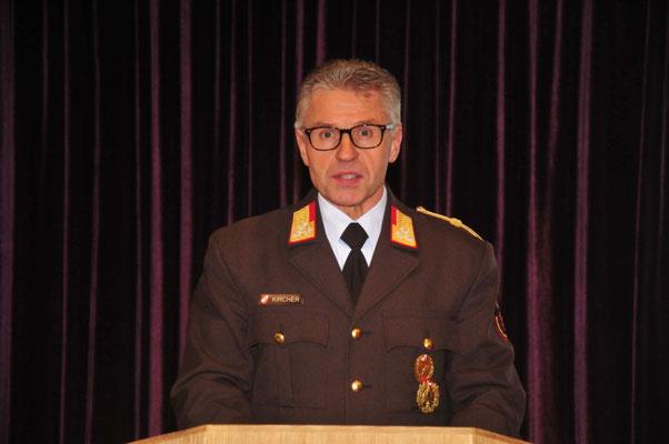 Bezirksfeuerwehrkommandant OBR Reinhard Kircher