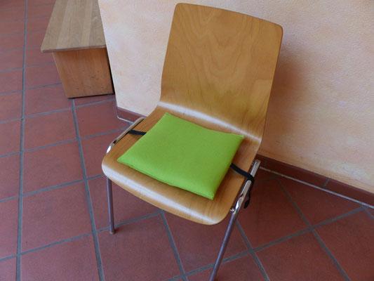 zu klein - das Flowmo Pad für dynamisches Sitzen in der Schule
