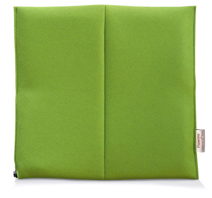 Ergonomisches Sitzkissen Bürostuhl Pad: FLOWMO Unichrome Lime