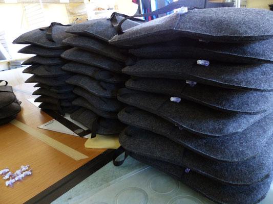 stutzen der Ventile - das Flowmo Pad für dynamisches Sitzen in der Schule