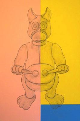 Février 2002, 146 x 89 cm