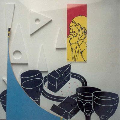 1993, 56 x 56 cm