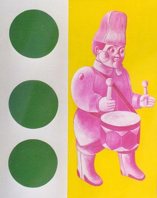 Tambour, 1999, 146 x 114