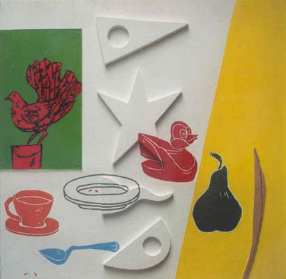 Nature morte, 1993, 53 x 53 cm