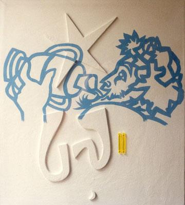 Pommard non Poussin, 1989, 61 x 53 cm