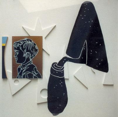 Truelle, 1993, 56 x 56 cm