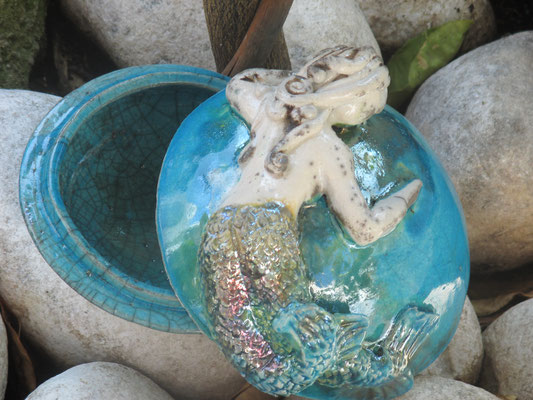 Portagioie Partenope in ceramica Le Terre di Rò