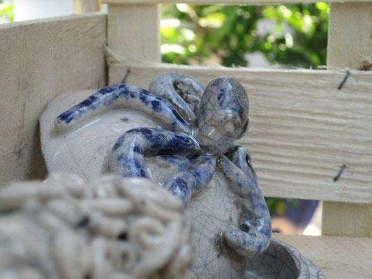 Portagioie ceramica Polipo Le Terre di Rò