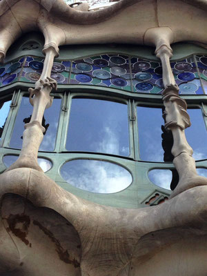 Gaudì Palazzo Batllò Le Terre di Rò