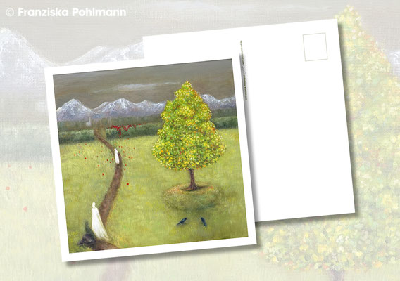 """Postkarte """"Garten der Heilung"""""""