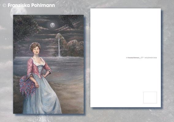"""Postkarte """"Wasserfall der Träume"""""""