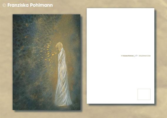 """Postkarte """"Golden Rain"""""""
