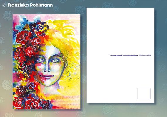 "Postkarte ""Rosenkopf"""