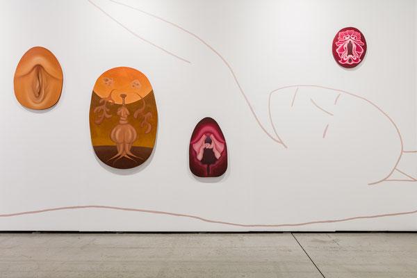 Installationsansicht, viennacontemporary 2020, Foto: kunst-dokumentation.com