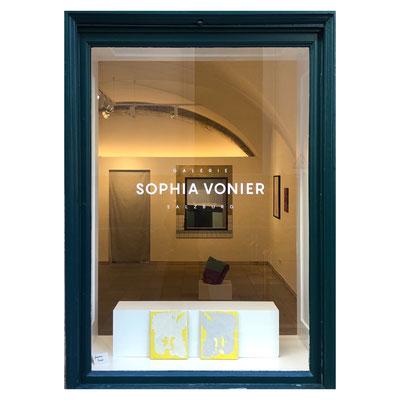 ART WINDOW No.5: Johanna Binder, Sandwich, 2015, Acrylic on Canvas, each 30 x 24 cm, Price on Request.