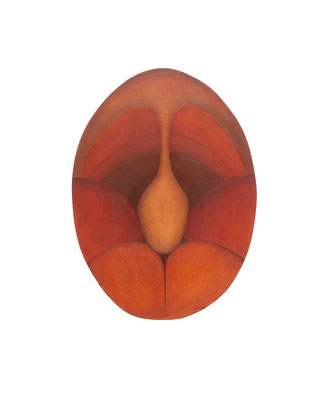 Marianne Vlaschits, Blocked Portal, 2020, Öl auf Leinwand, 40,5 x 29,8 cm