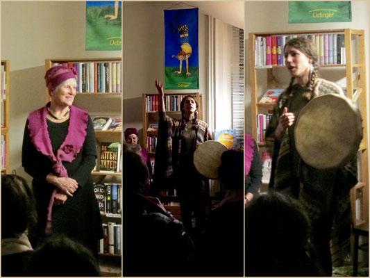 Märchen erzählen mit Katherine Baader - Buchladen Rapunzel, November 2016