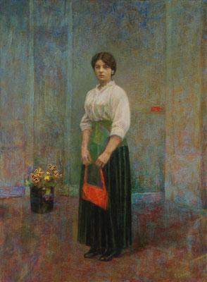 2007 La femme au sac rouge 25P