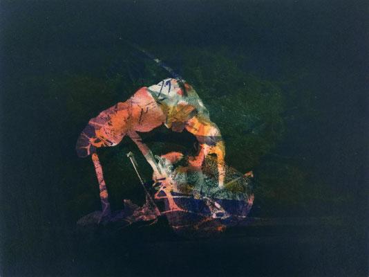 Kristin Finsterbusch, frinds 8, Fotopolymerdruck, 4 Platten, 15x20cm, 2021