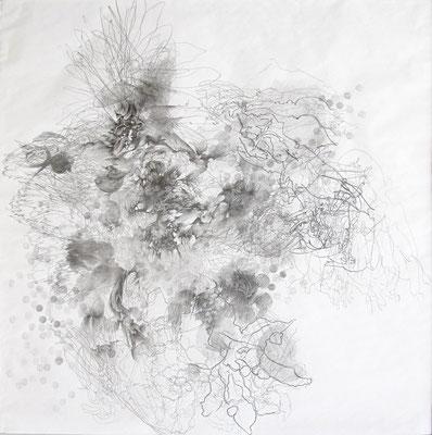 Kristin Finsterbusch, VM  Z 4, Bleistift, 2015, 30 x 30
