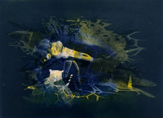 Kristin Finsterbusch, frinds 4, Fotopolymerdruck, 4 Platten, 15x20cm, 2021