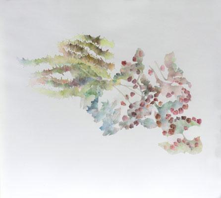 Kristin Finsterbusch, unione 7, Zeichnung, Bleistift, Farbstift, 2017, 30 x 30 cm