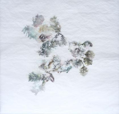 Kristin Finsterbusch, unione 3, Zeichnung, Bleistift, Farbstift, 2016, 30 x 30 cm
