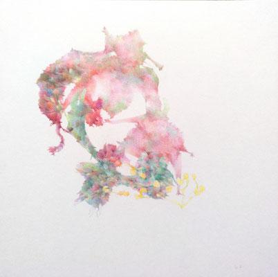 Kristin Finsterbusch, unione 17, Zeichnung, Bleistift, Farbstift, 2017, 21 x 21cm