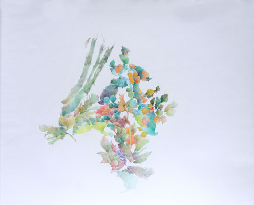 Kristin Finsterbusch, unione 13, Zeichnung, Bleistift, Farbstift, 2017, 30x x30 cm