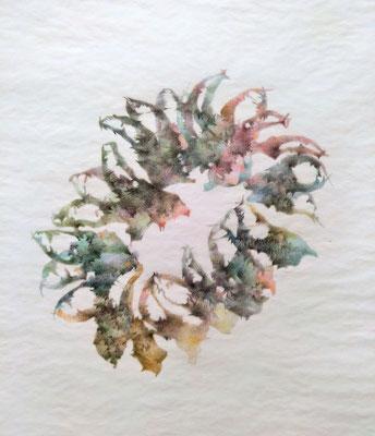 Kristin Finsterbusch, unione 23, Zeichnung, Bleistift, Farbstift, 2019, 30 x 30cm