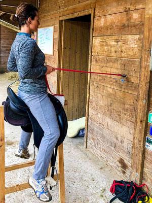 Coaching individuel, préparation physique du cavalier, écurie les Rouillons, 89 Sens