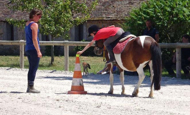 L'apprentissage par le jeu au poney club, les Rouillons, Sens