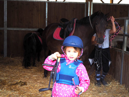 Cours baby poney, poney club les Rouillons, Sens