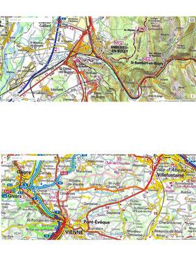 Trajet LONS / VIENNE : les points clés