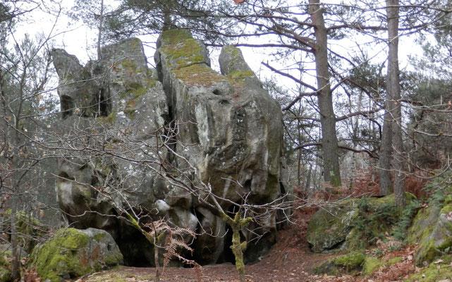 La roche des 3 pignons