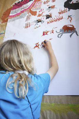 Ausdrucksmalen für Kinder - MALRAUM Altona