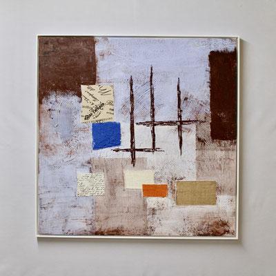 Inspiration am Wasser (80 x 80, mit Rahmen, 900 CHF)